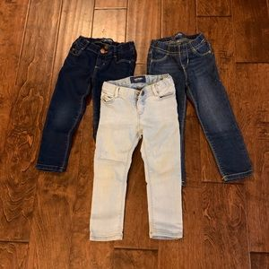 3 Old Navy Toddler Jeans